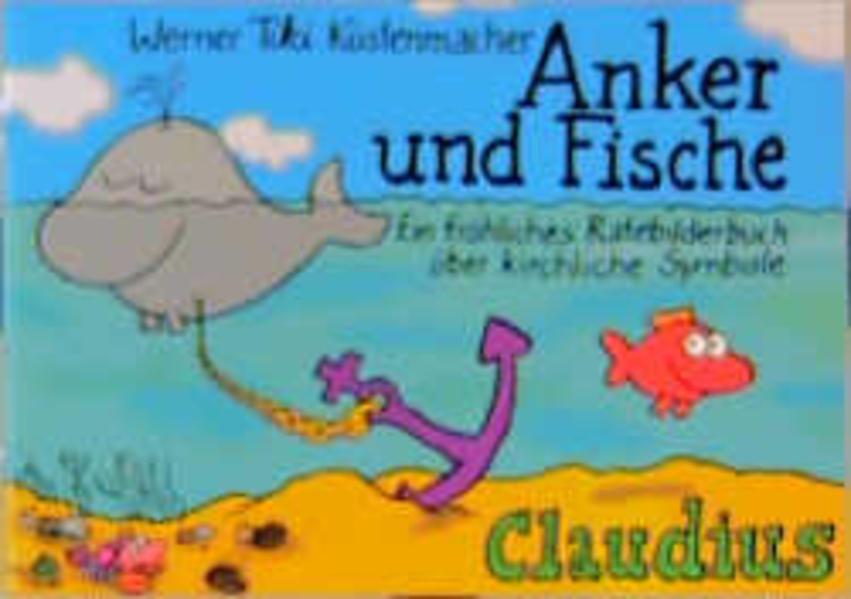 Anker und Fische als Buch
