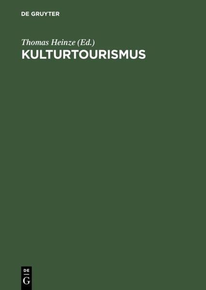 Kulturtourismus als Buch