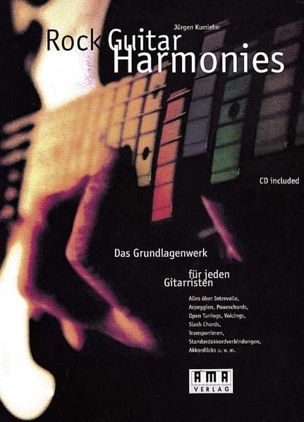 Rock Guitar Harmonies. Mit CD als Buch