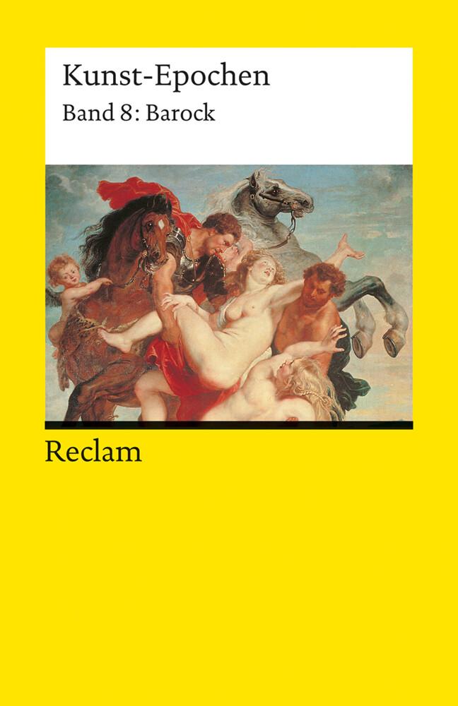 Kunst-Epochen 08. Barock als Taschenbuch
