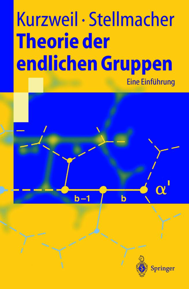 Theorie der endlichen Gruppen als Buch