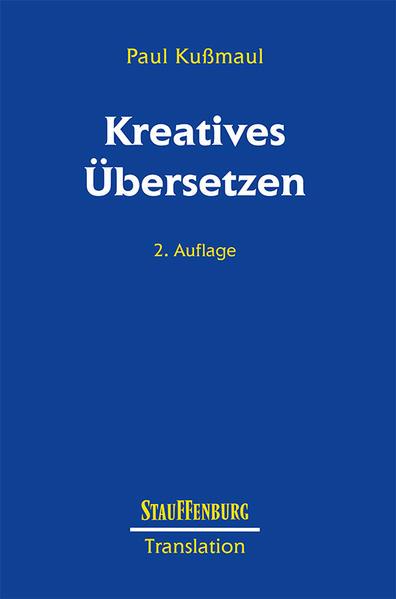 Kreatives Übersetzen als Buch