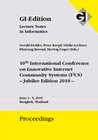 "Proceedings 165 ""10th International Conference on Innovative Internet Community Systems (I2CS) - Jubilee Edition 2010 -"