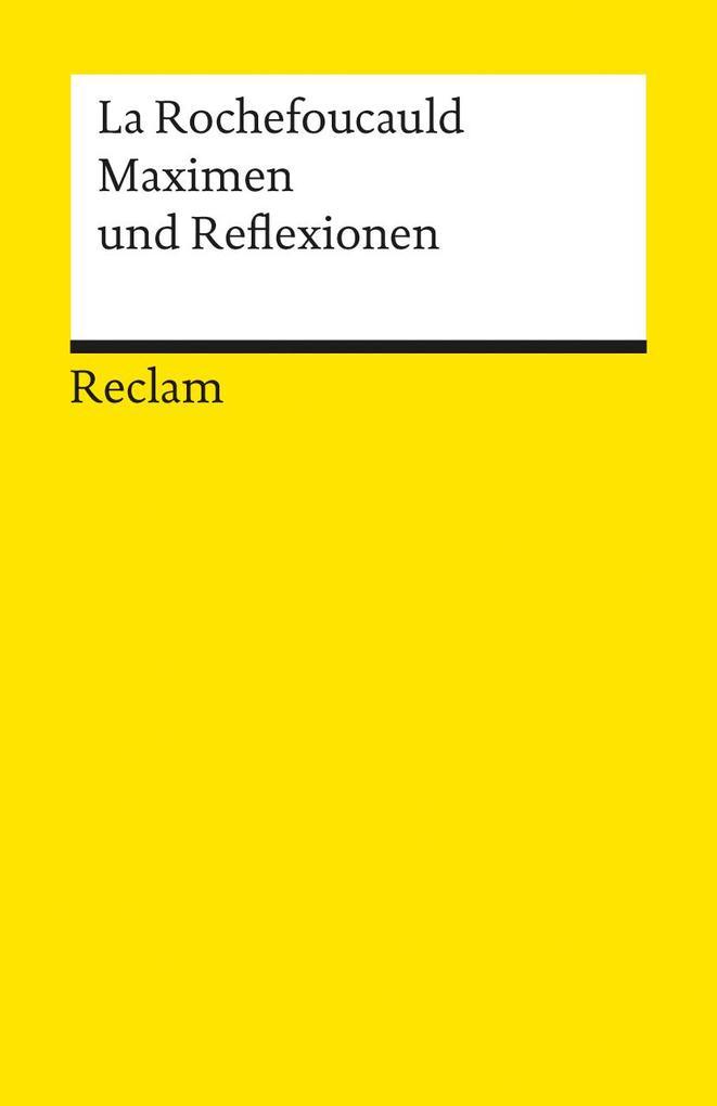 Maximen und Reflexionen als Taschenbuch