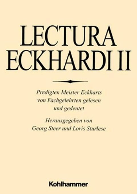 Lectura Eckhardi 2 als Buch