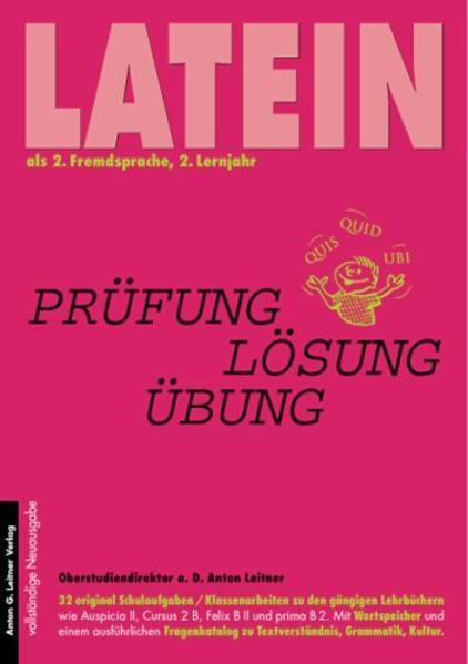 Latein als 2. Fremdsprache. 2. Lernjahr als Buch