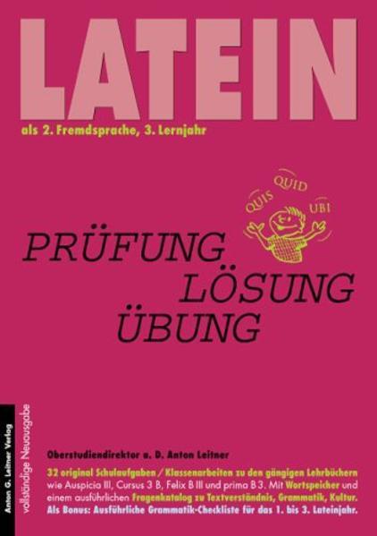 Latein als 2. Fremdsprache. 3. Lernjahr als Buch