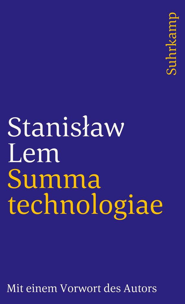 Summa technologiae als Taschenbuch