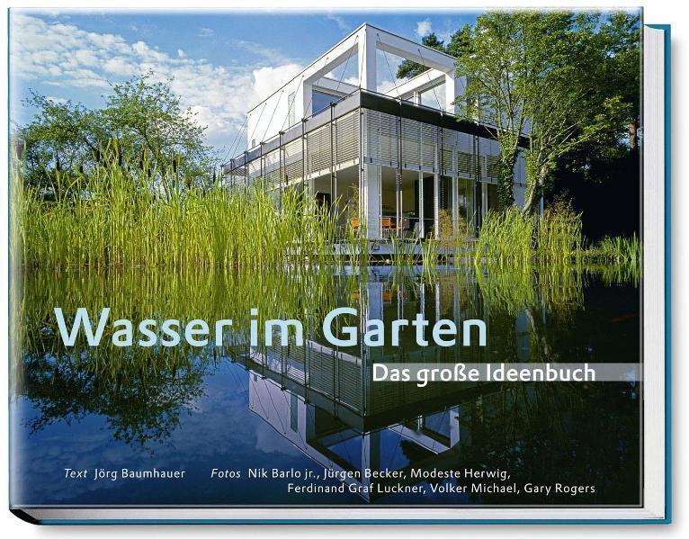 Wasser im Garten als Buch