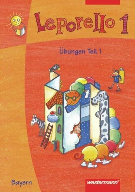 Leporello 1. Sprach-Lese-Buch. Übungen Teil 1 und 2. Bayern als Buch