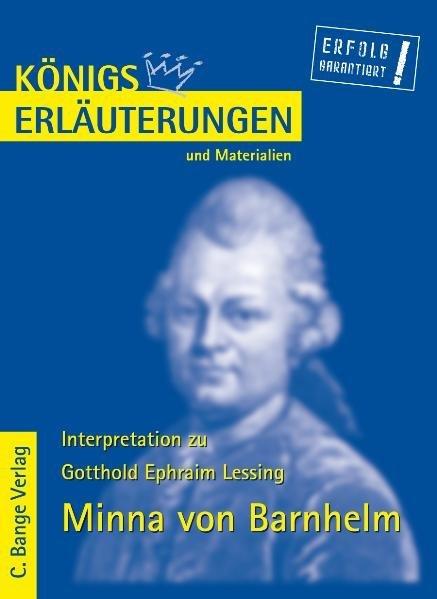 Minna von Barnhelm. Erläuterungen und Materialien als Taschenbuch