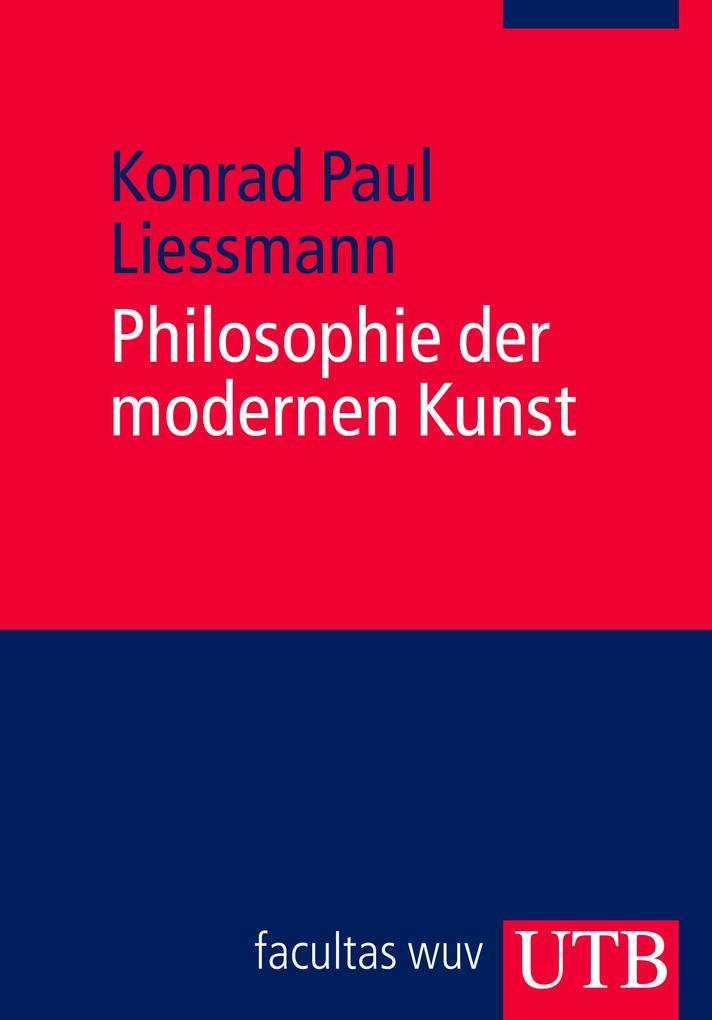 Philosophie der modernen Kunst als Buch