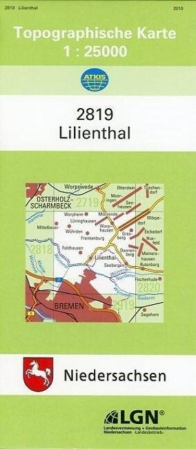 Lilienthal 1 : 25 000. (TK 2819/N) als Buch