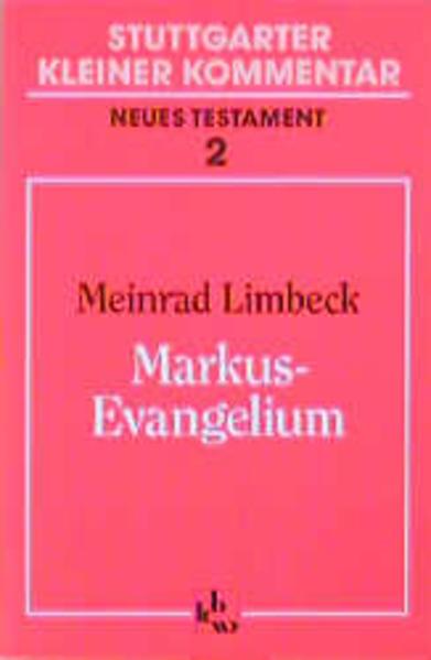 Markus - Evangelium als Buch