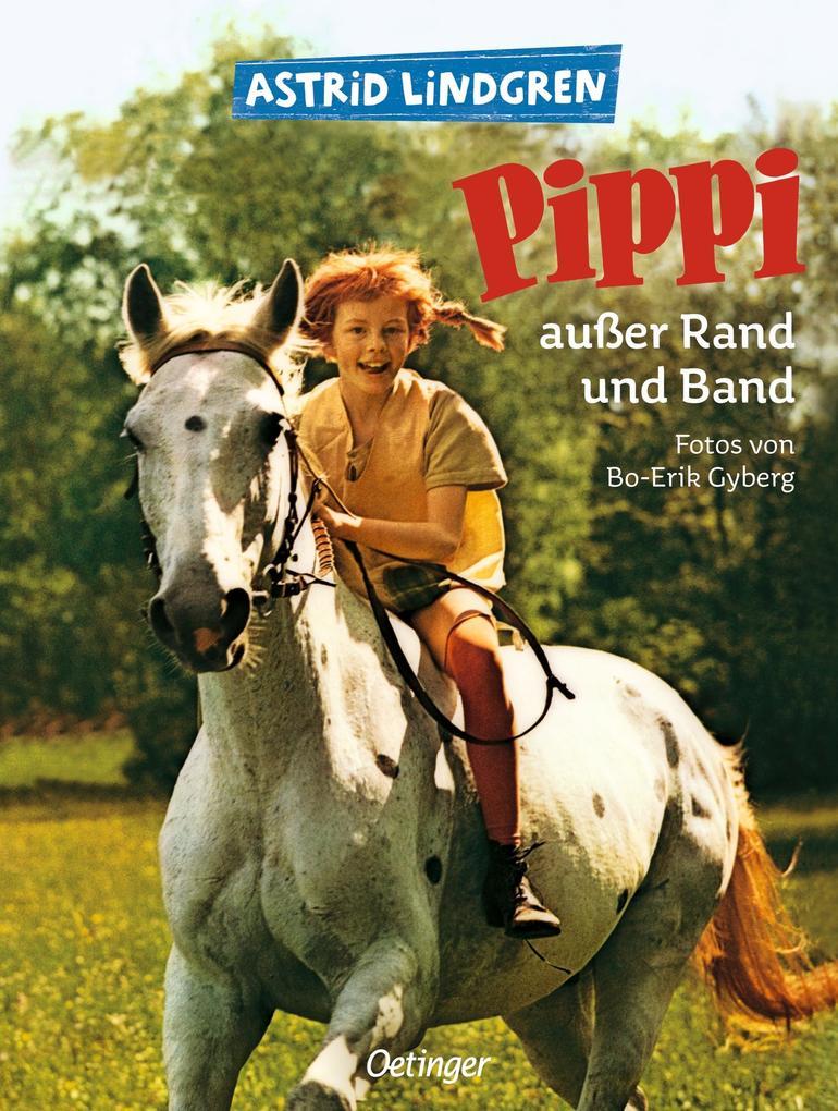 Pippi außer Rand und Band als Buch