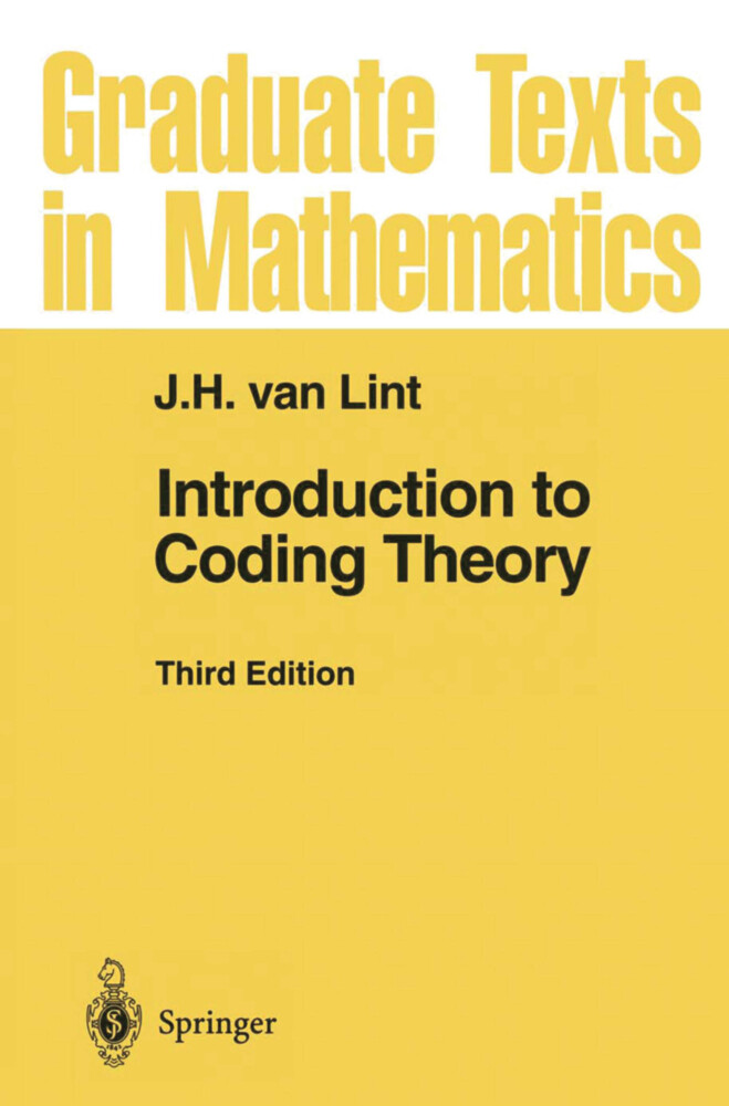 Introduction to Coding Theory als Buch