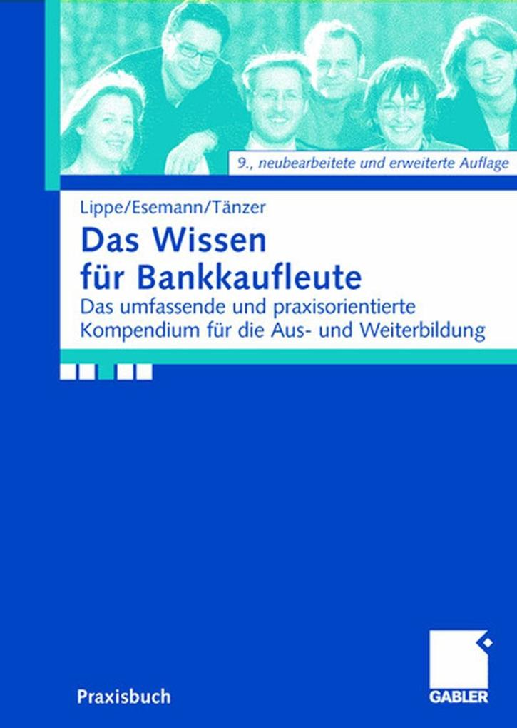 Das Wissen für Bankkaufleute als Buch