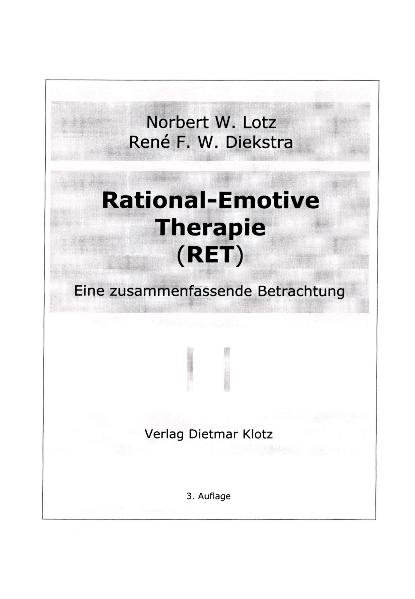 Rational-Emotive Therapie. RET als Buch