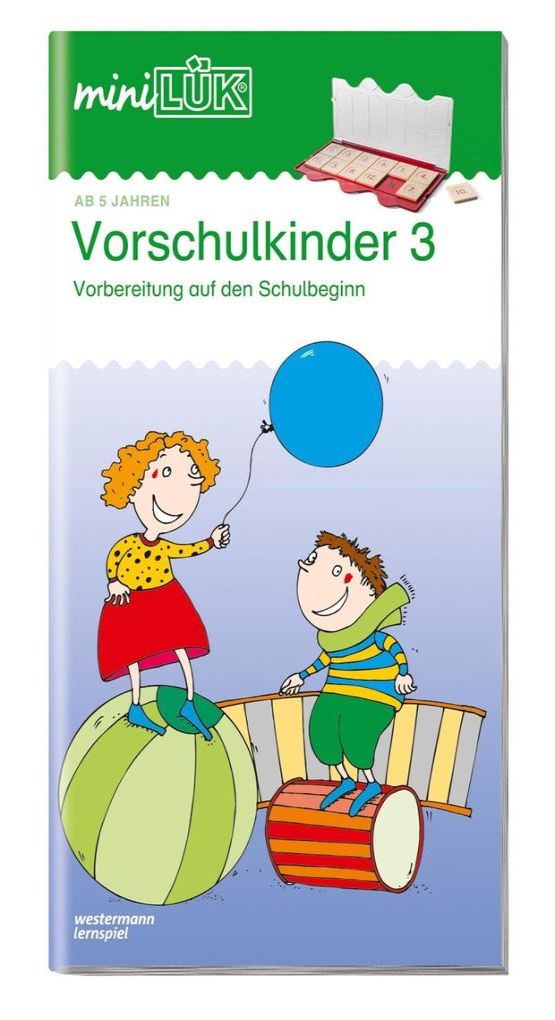 miniLÜK. Übungen für Vorschulkinder 3 als Buch