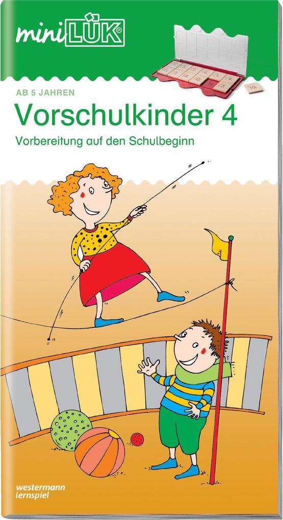 miniLÜK. Vorschulkinder 4 als Buch