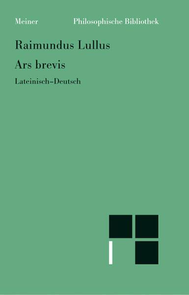 Ars brevis als Buch