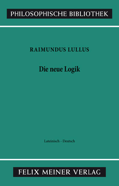 Die neue Logik. Logica Nova als Buch