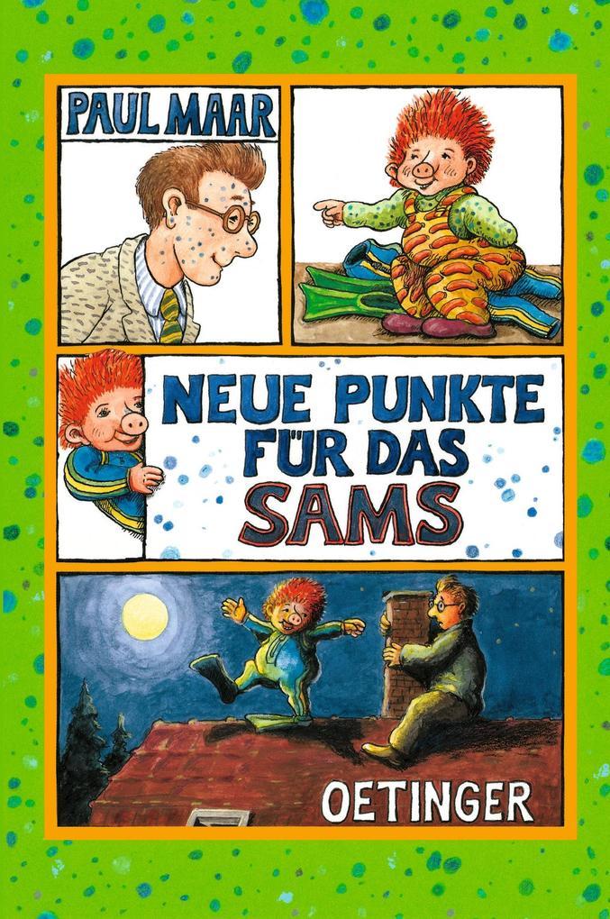 Neue Punkte für das Sams als Buch