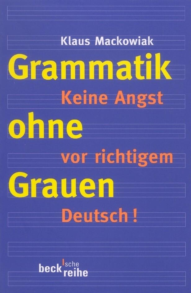 Grammatik ohne Grauen als Taschenbuch