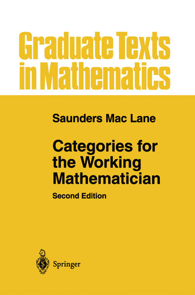 Categories for the Working Mathematician als Buch