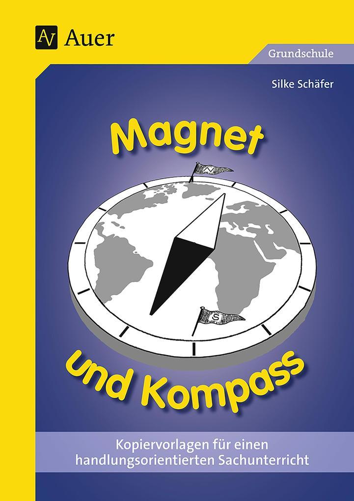 Magnet und Kompass als Buch