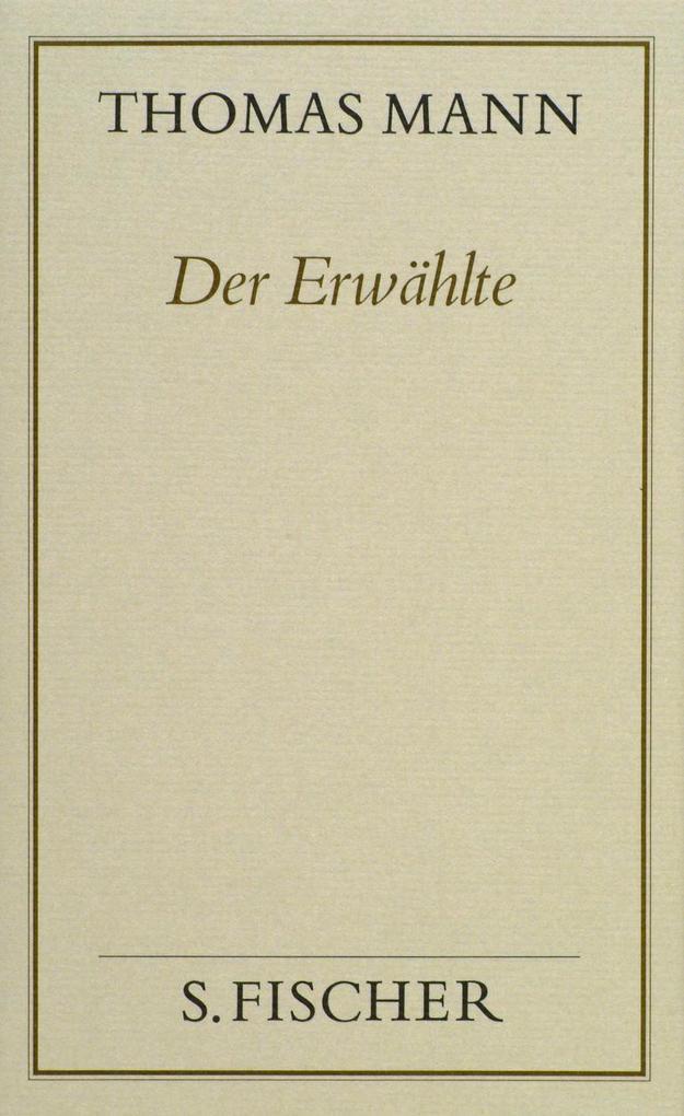 Der Erwählte ( Frankfurter Ausgabe) als Buch