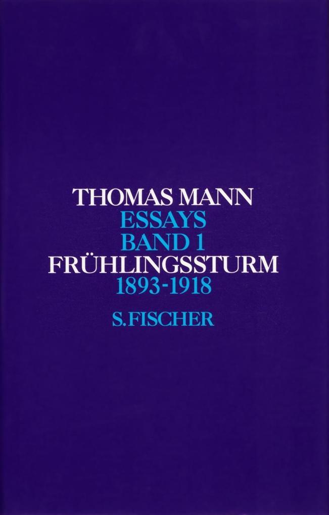 Frühlingssturm 1893 - 1918 als Buch