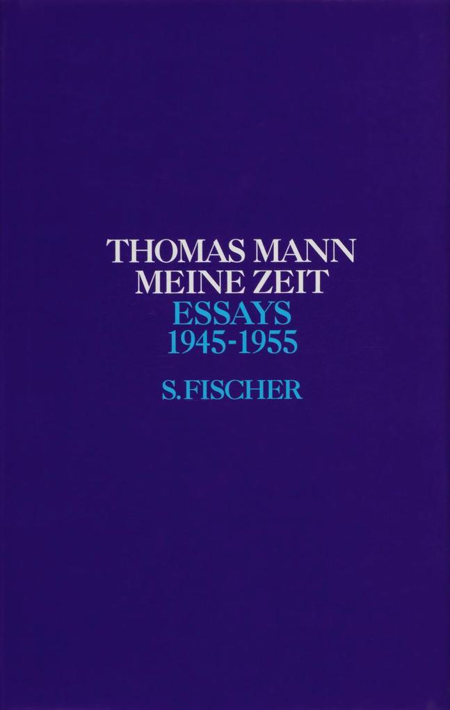 Meine Zeit 1945 - 1955 als Buch