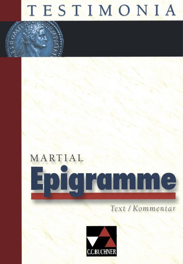 Epigramme. Text/Kommentar als Buch