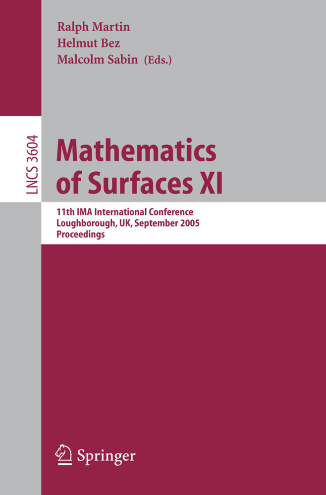 Mathematics of Surfaces XI als Buch