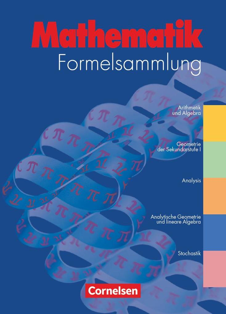 Mathematik Formelsammlung als Buch