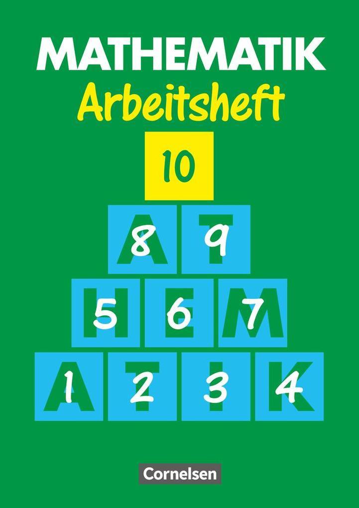 Mathematik 10. Arbeitsheft. Neue Ausgabe für Sonderschulen als Buch