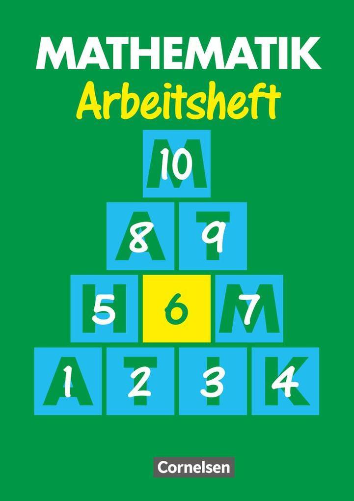 Mathematik 6. Arbeitsheft. Neue Ausgabe für Sonderschulen als Buch