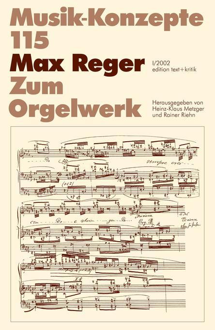 Max Reger als Buch