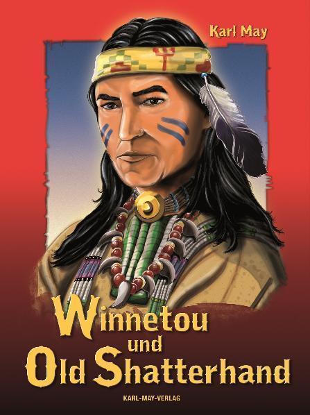 Winnetou und Old Shatterhand als Buch