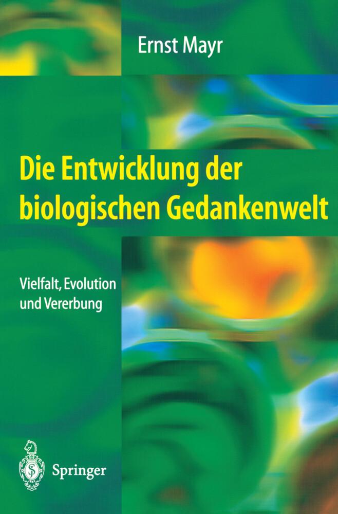 Die Entwicklung der biologischen Gedankenwelt als Buch