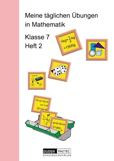Meine täglichen Übungen in Mathematik Klasse 7 Heft 2 als Buch