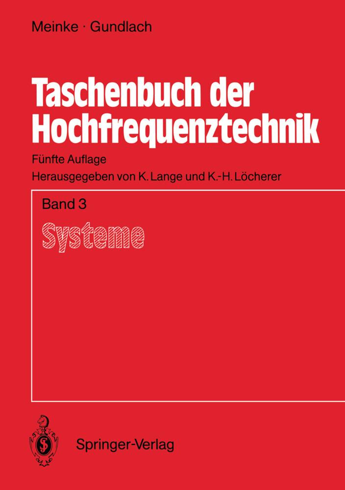Taschenbuch der Hochfrequenztechnik als Buch