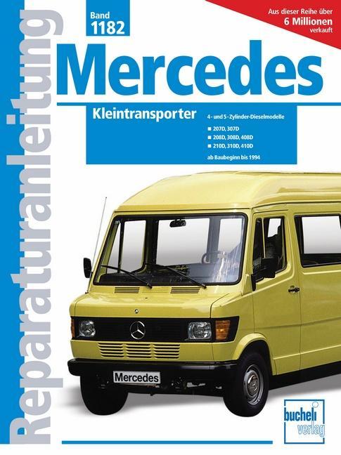 Mercedes Kleintransporter als Buch