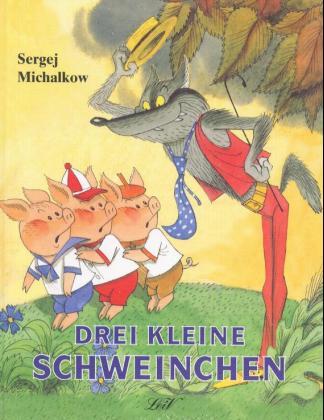 Drei kleine Schweinchen als Buch
