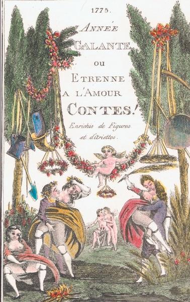 ANNÉE GALANTE als Buch