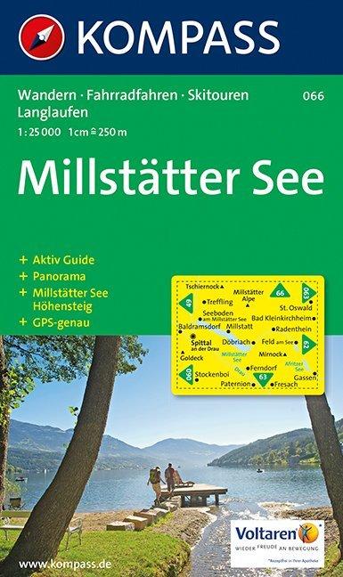 Millstätter See 1 : 25 000 als Buch