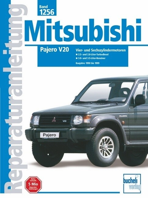 Mitsubishi Pajero V20 ab Baujahre 1990 bis 1999 als Buch