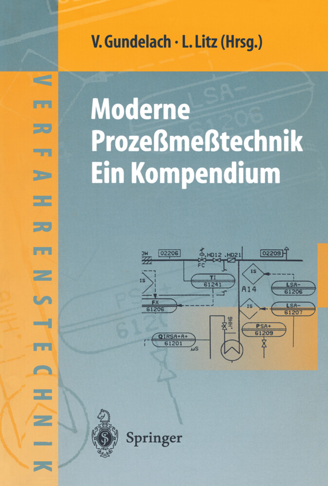 Moderne Prozeßmeßtechnik. Ein Kompendium als Buch