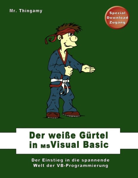 Der weiße Gürtel in Visual Basic als Buch